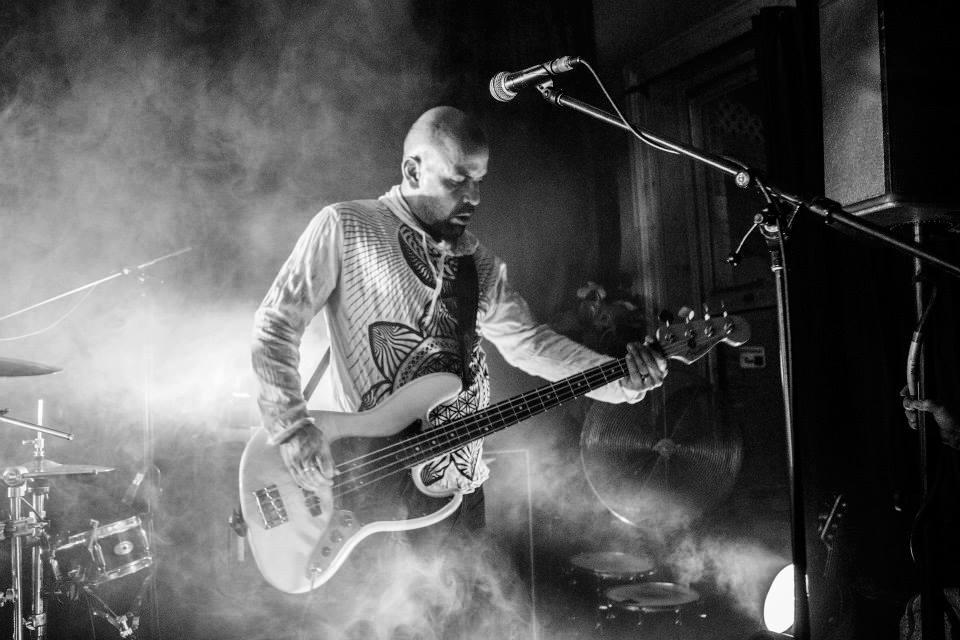 Bassist Oswaldo Grillet Live Photo